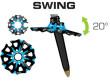 TSL Tour Carbon 2 Cross Swing