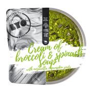 Lyofood krémová Brokolicová polévka se špenátem, mozarellou a dýňovými semínky