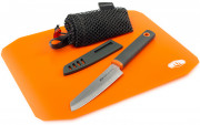 GSI Rollup Cutting Board Knife Set
