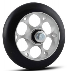 One Way Wheel skate 100 mm rubber