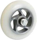 One Way Wheel skate Fast PU 100 mm