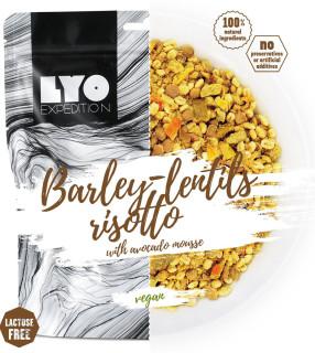 Lyofood Kroupové rizoto s čočkou a avokádem