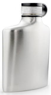 GSI Glacier Stainless Hip Flask 177 ml