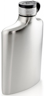 GSI Glacier Stainless Hip Flask 237 ml