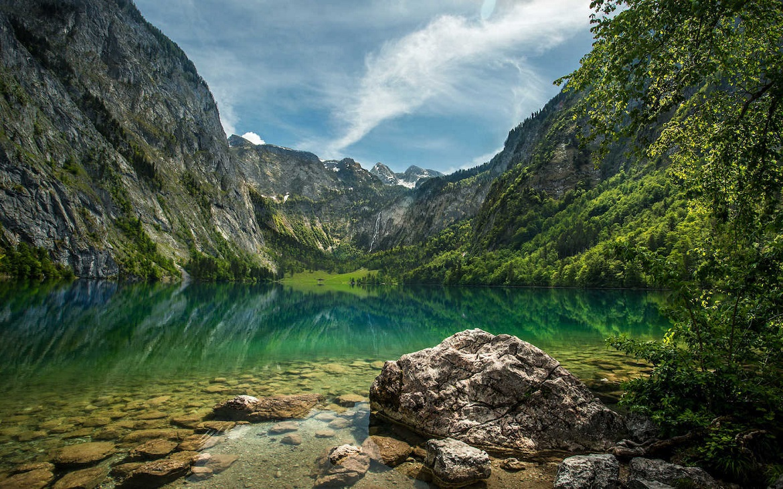 Náš výlet pod hřeben Watzmannu do sedla Trischübel a k jezeru Königssee