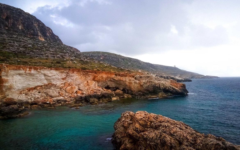 Lezení na Maltě v lednu